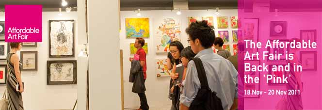 The Affordable Art Fair is Back and in the 'Pink'