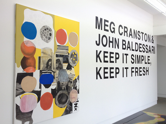 Meg Cranston & John Baldessari - Keep it Simple. Keep it Fresh // Singapore