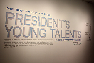 Singapore's Most Promising Artists at The President's Young Talents 2013