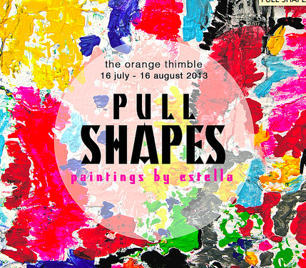 PULL SHAPES, Painting by Estella Ng