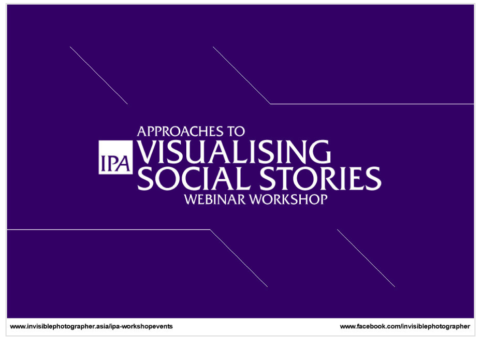 IPA 2014 Webinar Workshop: Approaches to Visualising Social Stories