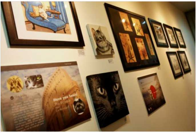 Singapore's Very Own Cat Museum – Come in. Open Up. Get Inspired