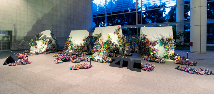 ZNC, Gardens by the Way, 2013, Mixed media installation, Dimensions variable