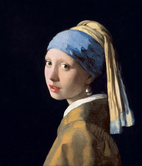 Dutch Days - The Mauritshuis' Girl with a Pearl Earring by Johannes Vermeer