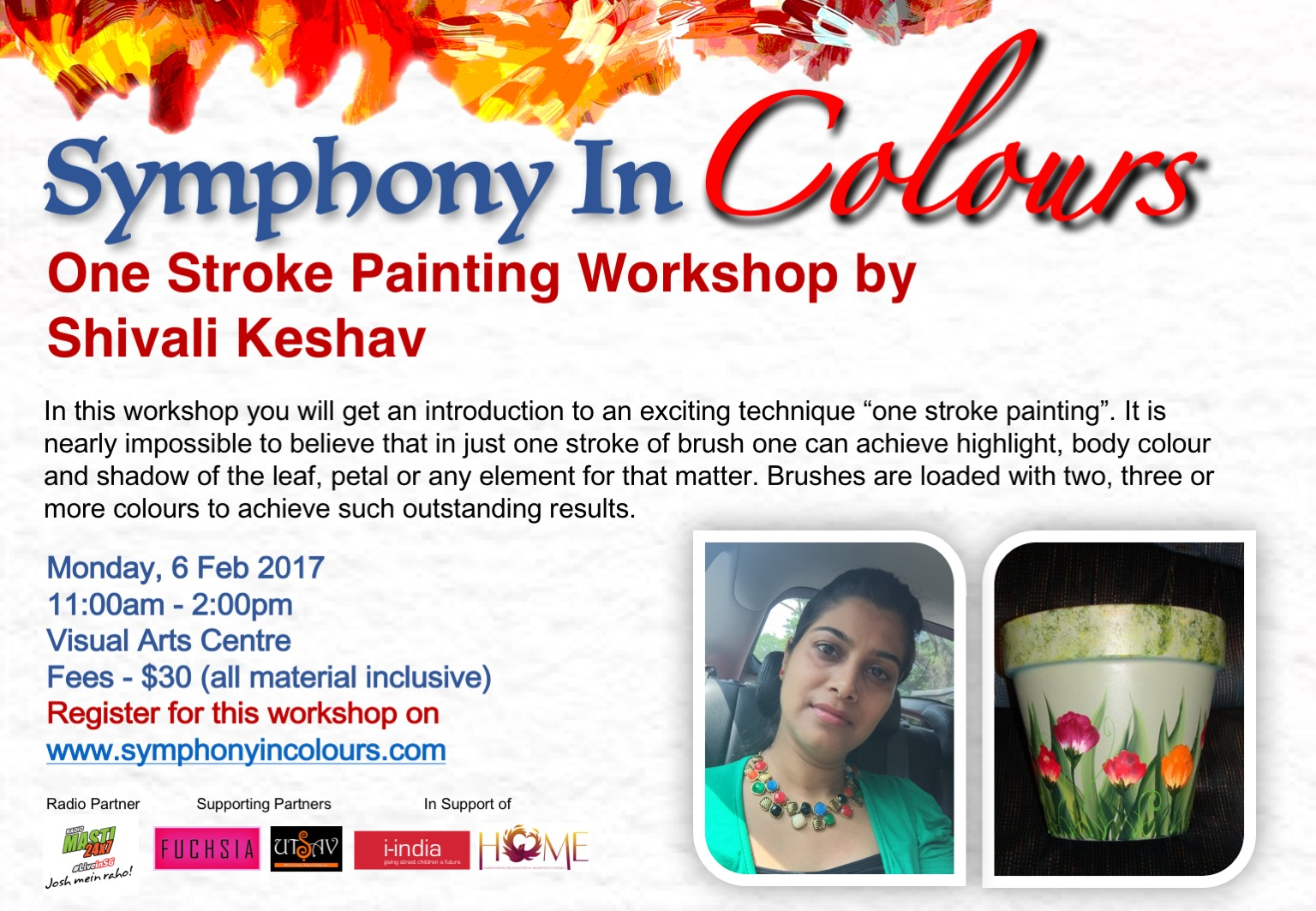 Symphony in colours - Workshop poster 2