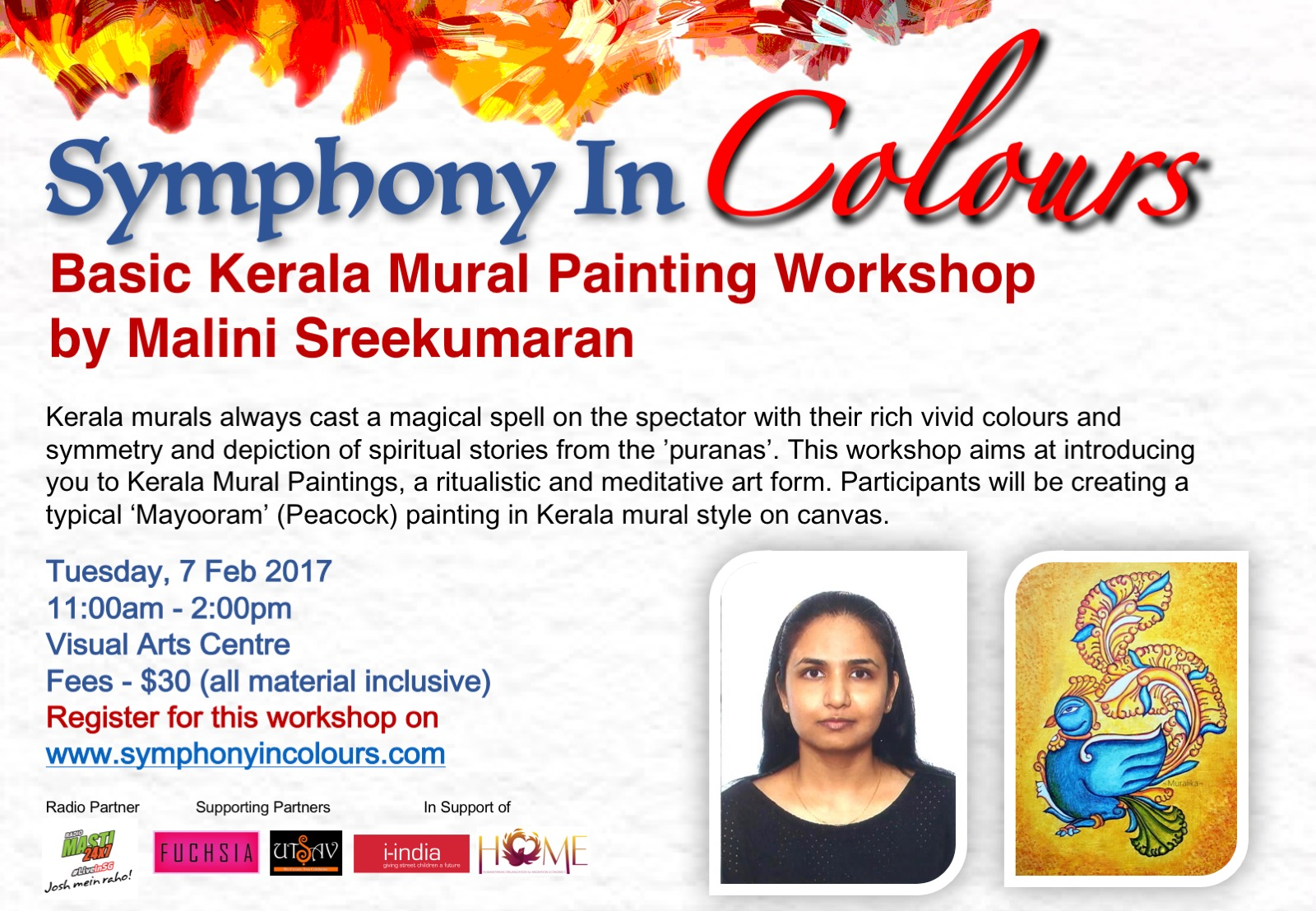 Symphony in colours - Workshop poster 3