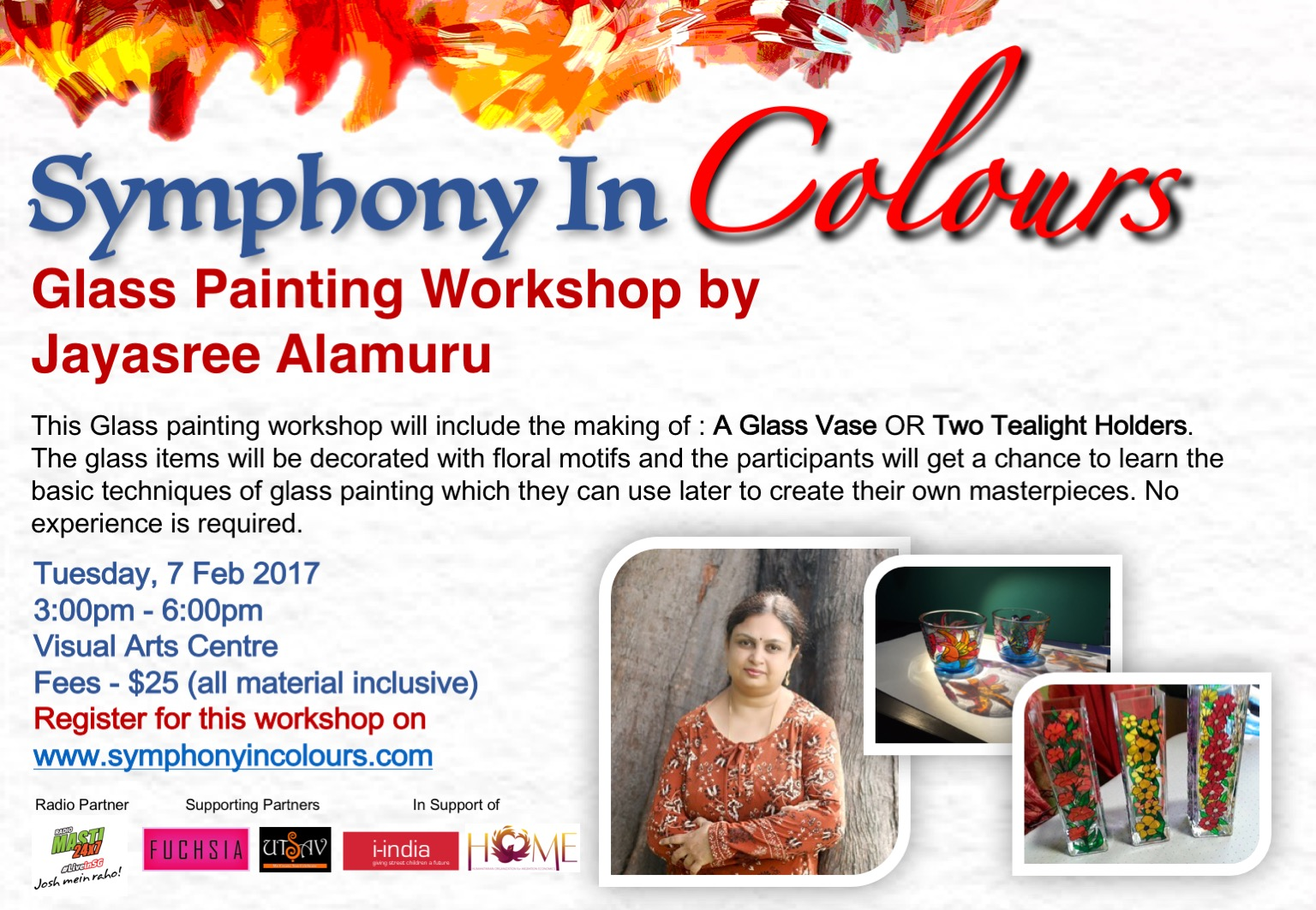 Symphony in colours - Workshop poster 4