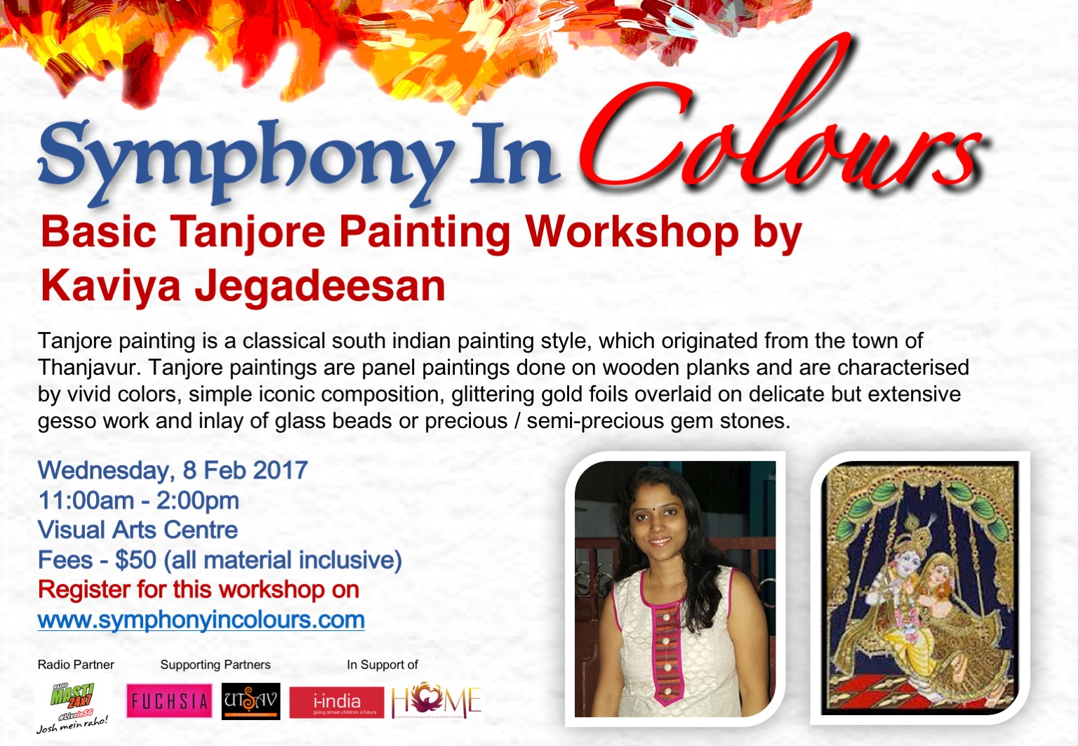 Symphony in colours - Workshop poster 5