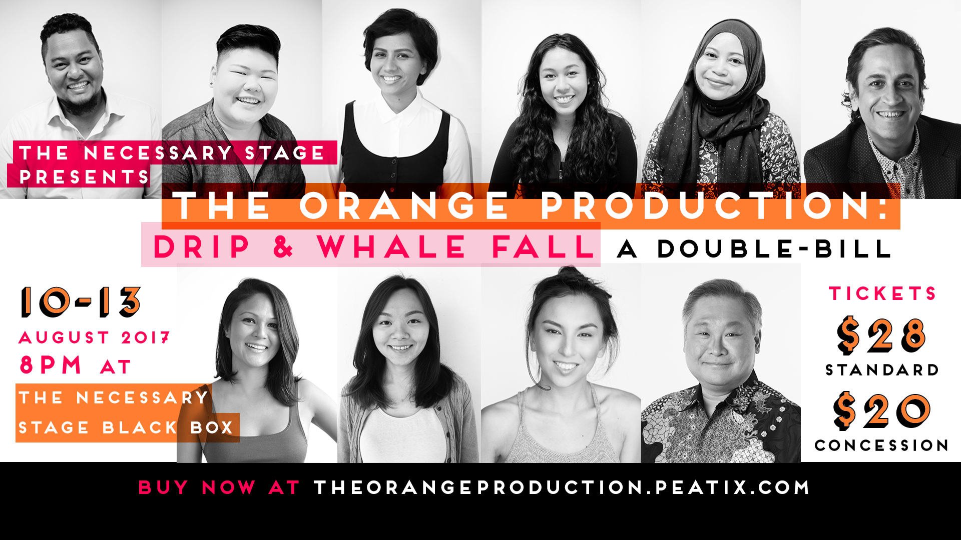 The Orange Production - FB cover event