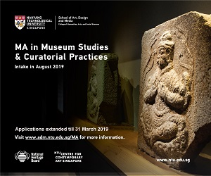 NTU - Master of Arts in Museum Studies and Curatorial Practices programme